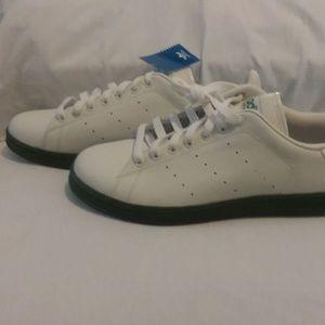 Adidas Stan Smith 2 Orange/White Mens 11.5